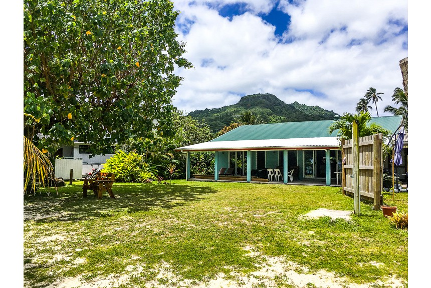 Aro'a Beachfront House - Property Photo