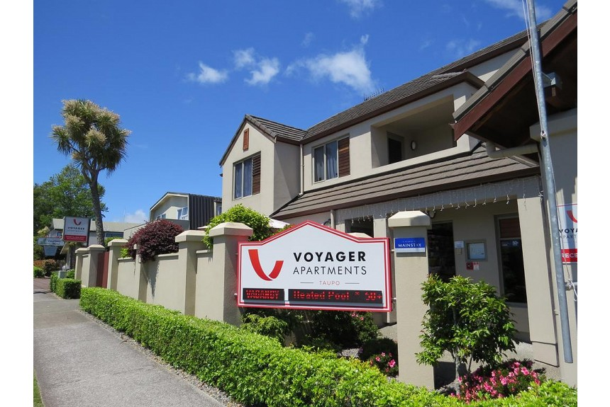 Voyager Apartments Taupo - Property Photo