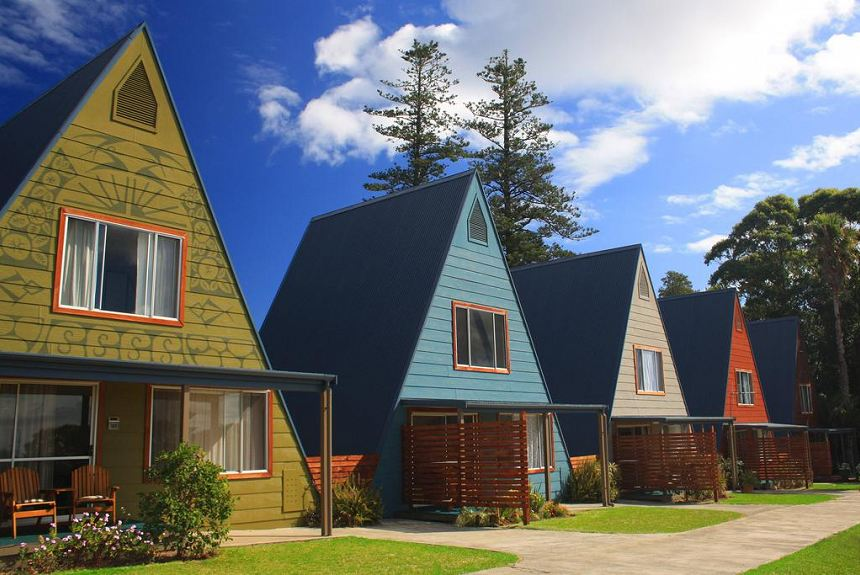 A-Frame Chalets at Mokutu - Property Photo