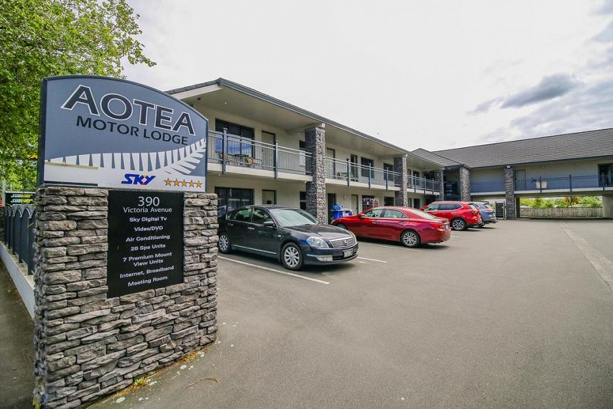 Aotea Motor Lodge - Property Photo
