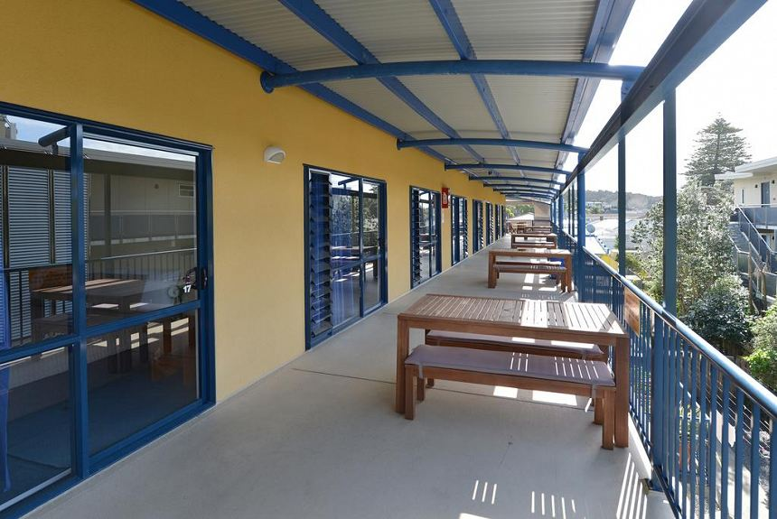 Saltwater Lodge Backpackers - Property Photo