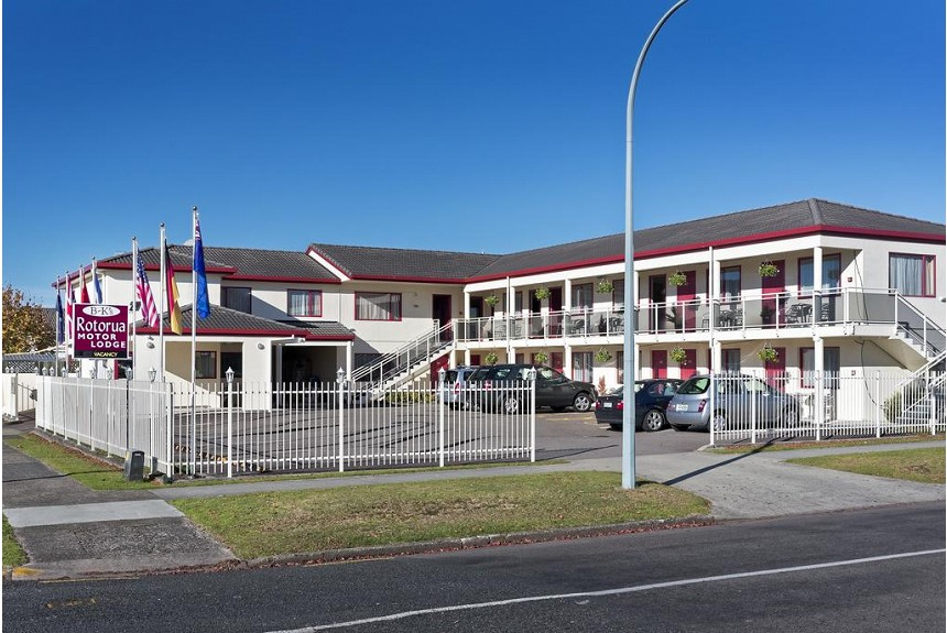 BK's Rotorua Motor Lodge - Property Photo