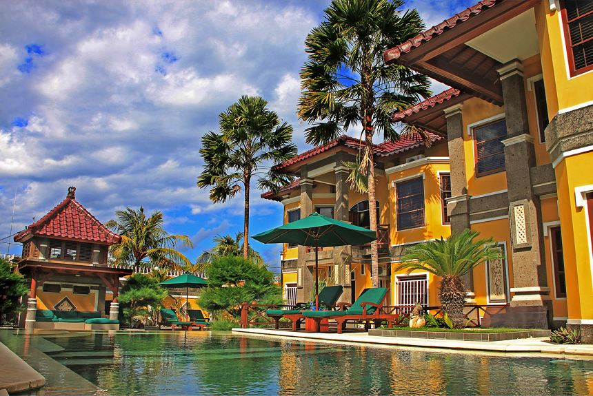 Apel Villa Sanur - Swimming Pool View