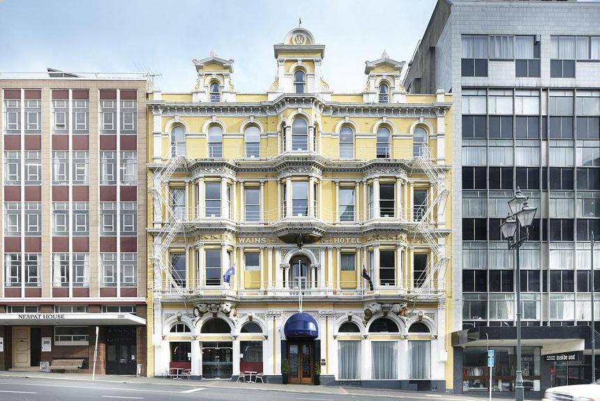 Wains Hotel Dunedin - Property Photo